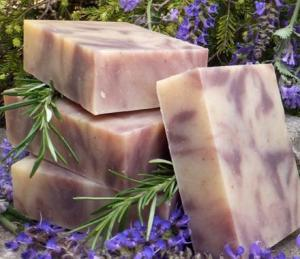 Lavender_Soap_and_Plant
